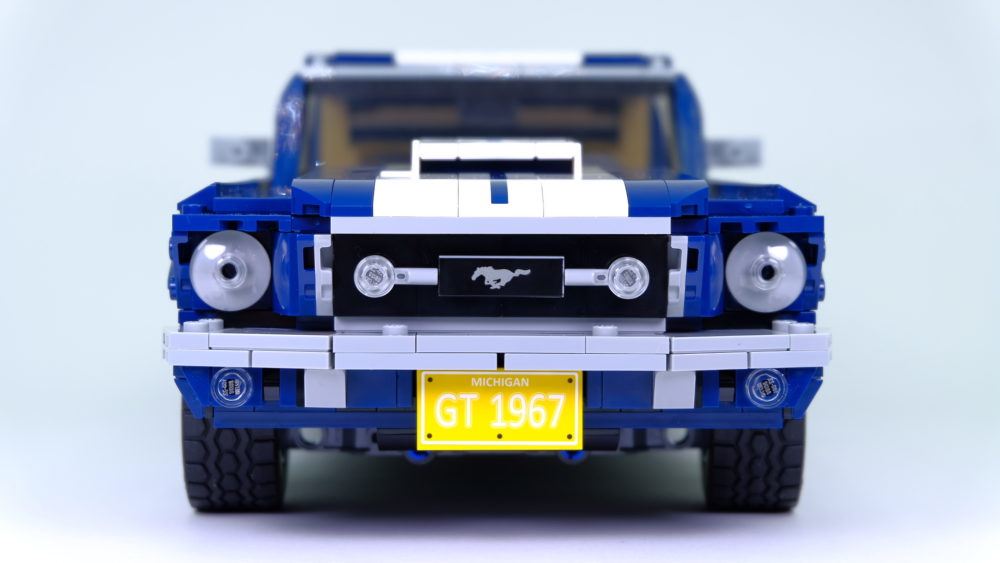 LEGO Ford Mustang - neus