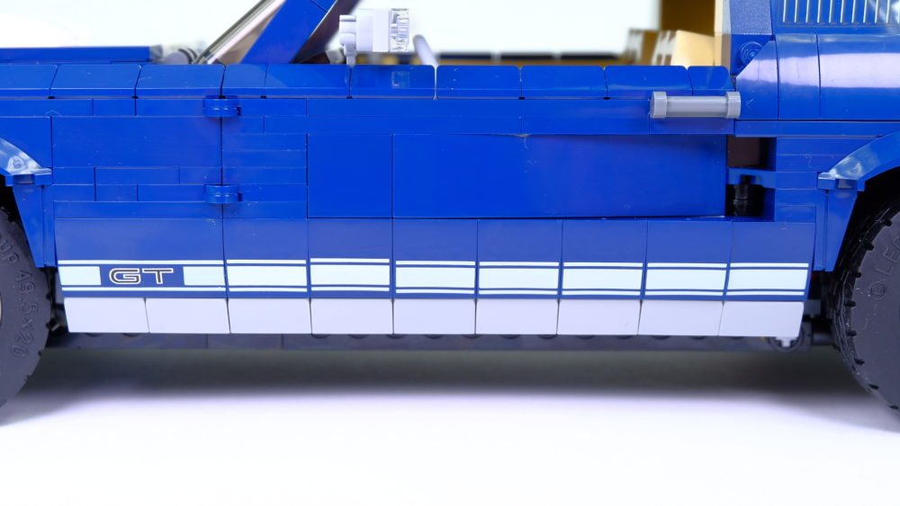 LEGO Ford Mustang - GT lijnen