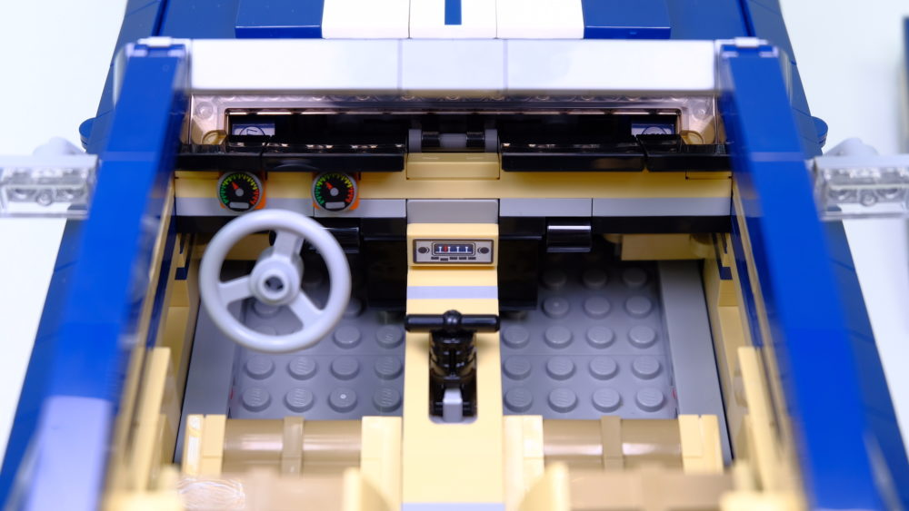 LEGO Ford Mustang - interieur