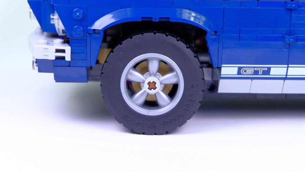 LEGO Ford Mustang - velgen