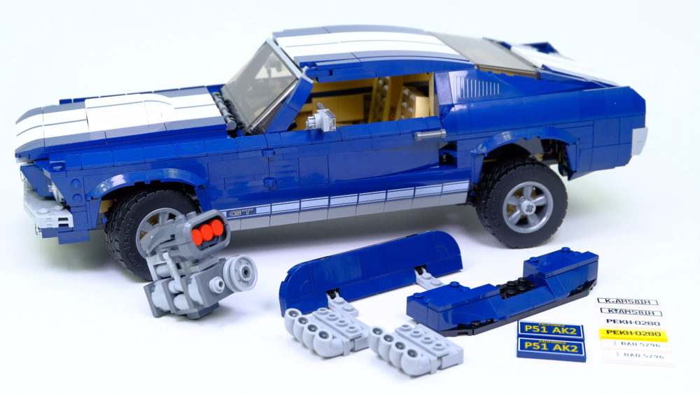 LEGO Ford Mustang - met modules