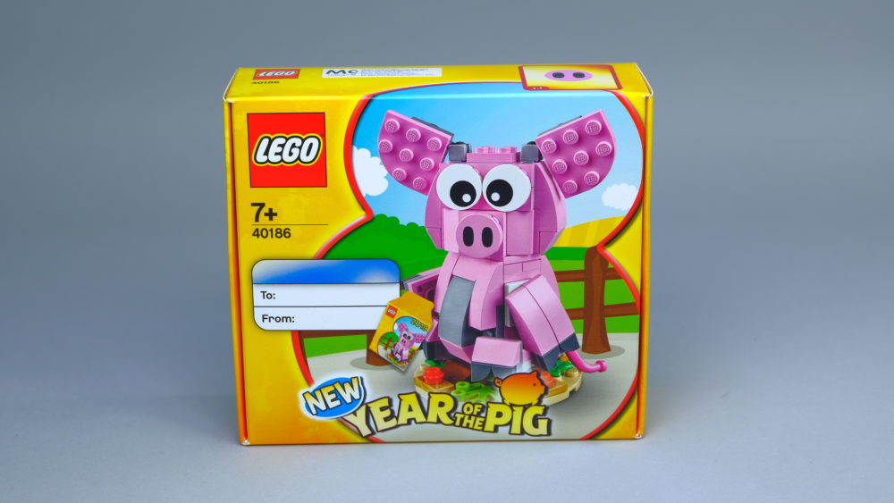 LEGO 40186 doos