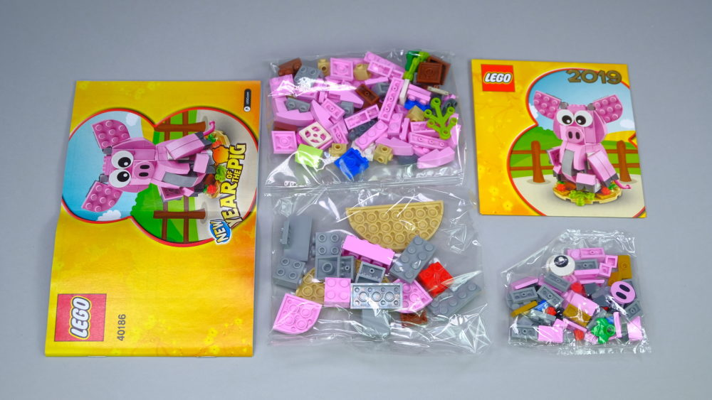 LEGO 40186 inhoud