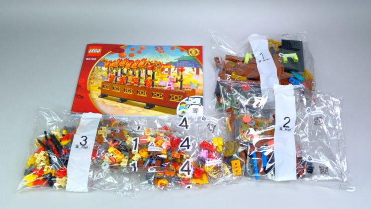 LEGO 80102 inhoud