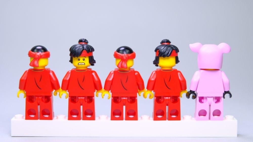 LEGO 80102 Minifigures