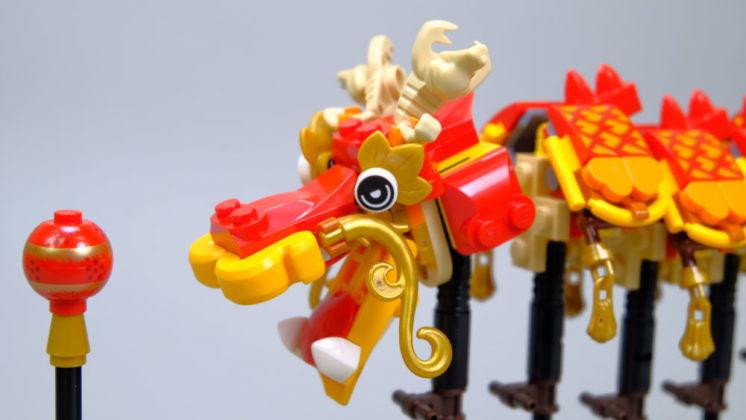 LEGO 80102 Drakenkop