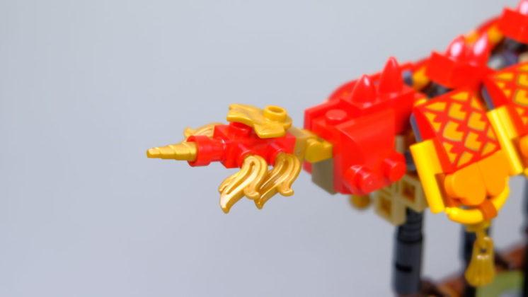 LEGO 80102 Staart