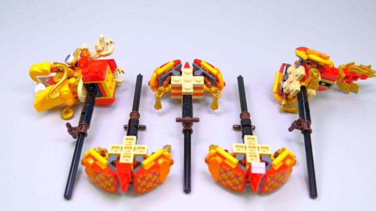 LEGO 80102 Segmenten