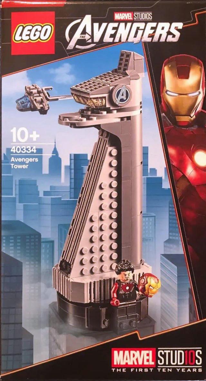 LEGO 40334 Avengers Tower opgedoken