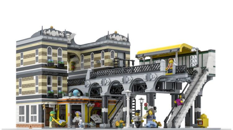 LEGO Ideas 145 Boulevard Station