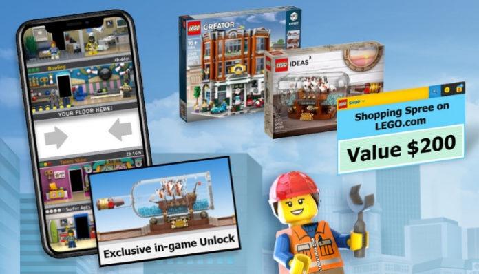 Bouw een virtuele kamer voor LEGO Tower