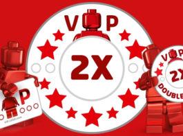 Dubbele VIP punten op alles