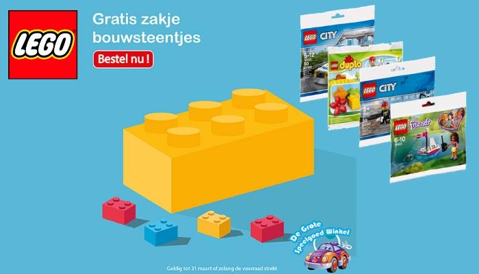 Gratis LEGO Polybag
