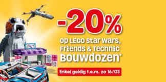 Korting op LEGO Star Wars - Friends en Technic