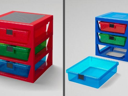 LEGO 3-Drawer Rack onthuld