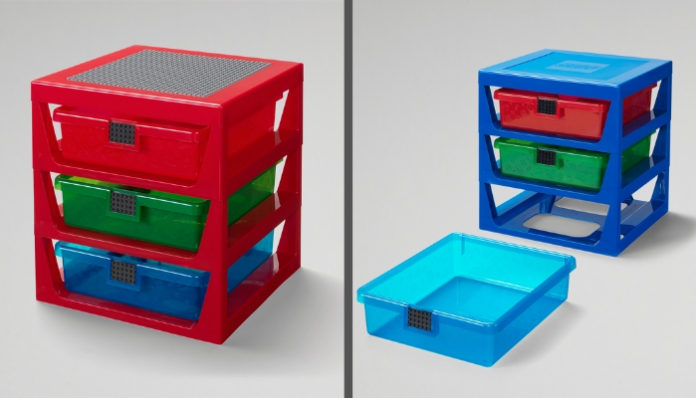 LEGO 3-Drawer Rack onthuld
