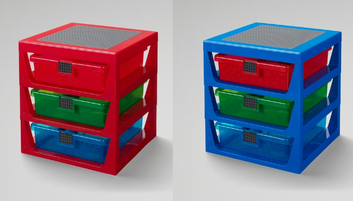 LEGO 3-Drawer Rack
