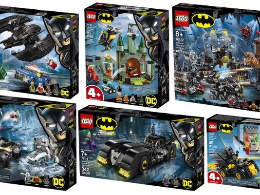 LEGO 80 years of Batman sets onthuld