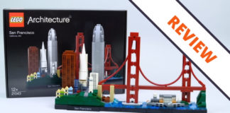 LEGO Architecture 21043 San Fransisco