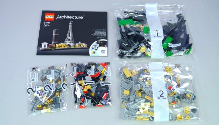 LEGO Architecture 21044 Inhoud