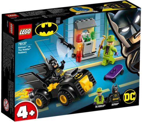 LEGO Batman 76137 Batman vs The Riddler Robbery