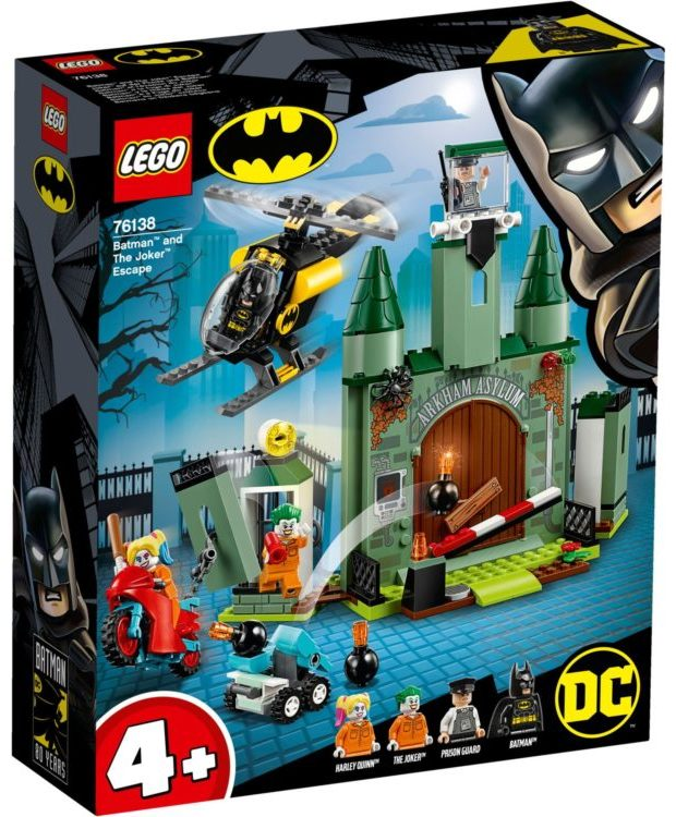 LEGO Batman 76138 Batman and The Joker Escape