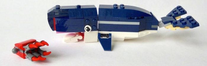 LEGO Creator 31088 Whale