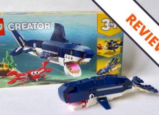 LEGO Creator 31088 Deep Sea Creatures header