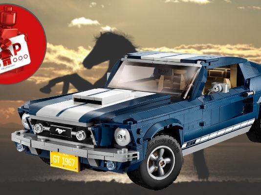 LEGO Creator Expert Ford Mustang verkrijgbaar
