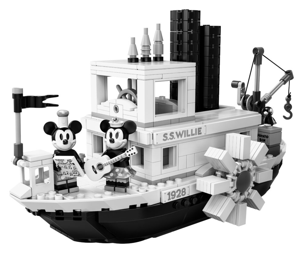 LEGO Ideas 21317 Steamboat