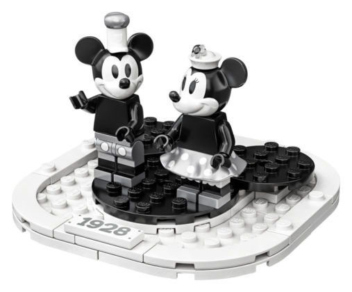 LEGO Ideas 21317 Mickey en Minnie Mouse display