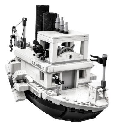 LEGO Ideas 21317 Steamboat