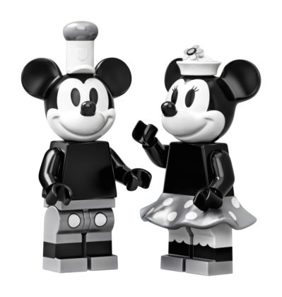 LEGO Ideas 21317 Mickey en Minnie Mouse