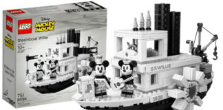 LEGO Ideas 21317 Steamboat Willie aangekondigd - header