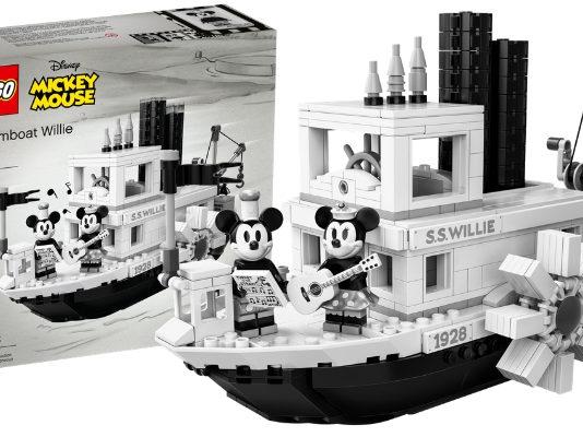 LEGO Ideas 21317 Steamboat Willie aangekondigd - header