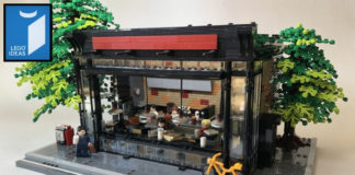 LEGO Ideas Book Cafe in Early Summer