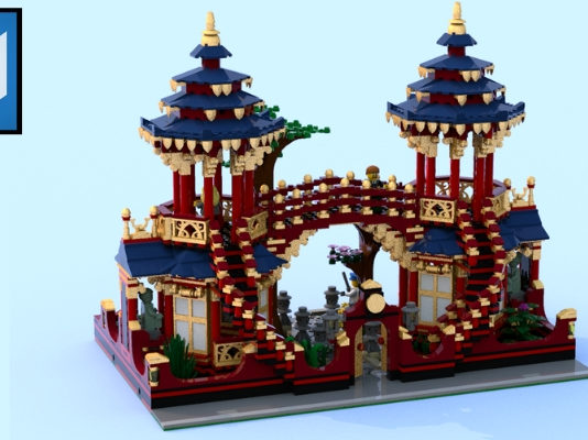 LEGO Ideas Chinese Garden