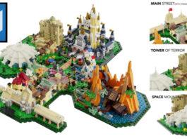 LEGO Ideas Disneyland Map