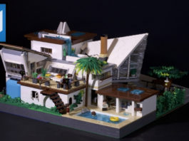 LEGO Ideas Everholm A Modern House