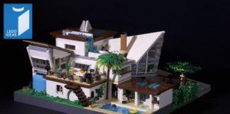 LEGO Ideas Everholm A Modern House
