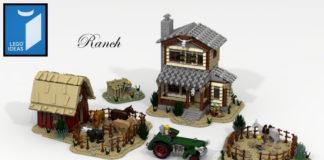 LEGO Ideas Ranch Life