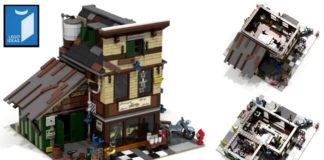 LEGO Ideas The Bike Shop