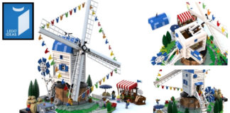 LEGO Ideas Windmill Open Day