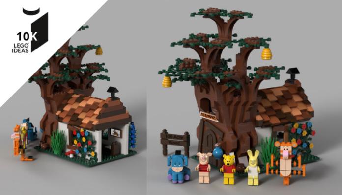 LEGO Ideas Winnie the Pooh bereikt 10K supporters