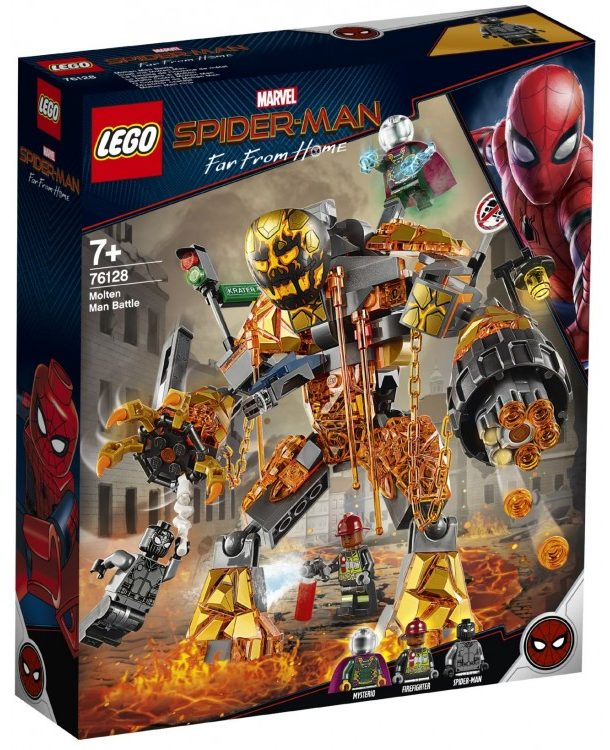 LEGO Marvel 76128 Molten Man Battle