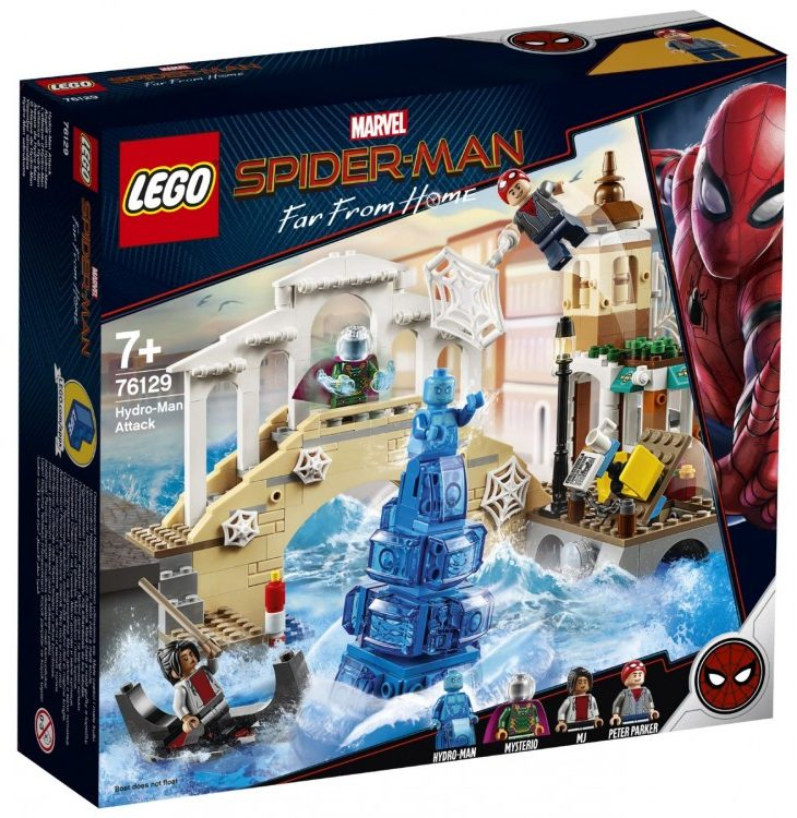 LEGO Marvel 76129 Hydro-Man Attack