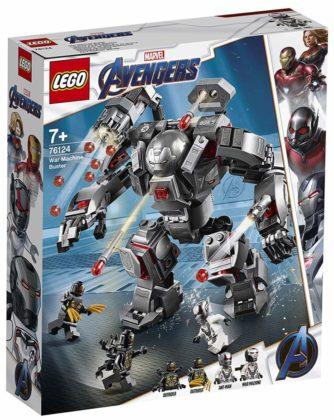 LEGO Marvel Avengers Endgame 76124 War Machine Buster