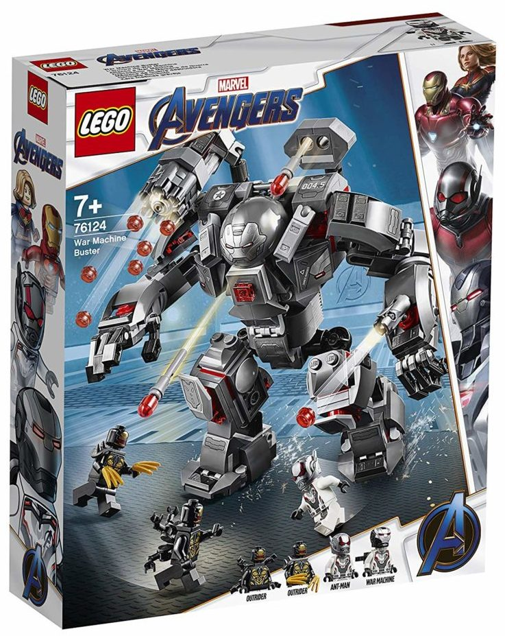 LEGO Marvel Avengers Endgame 76124 War Machine Buster