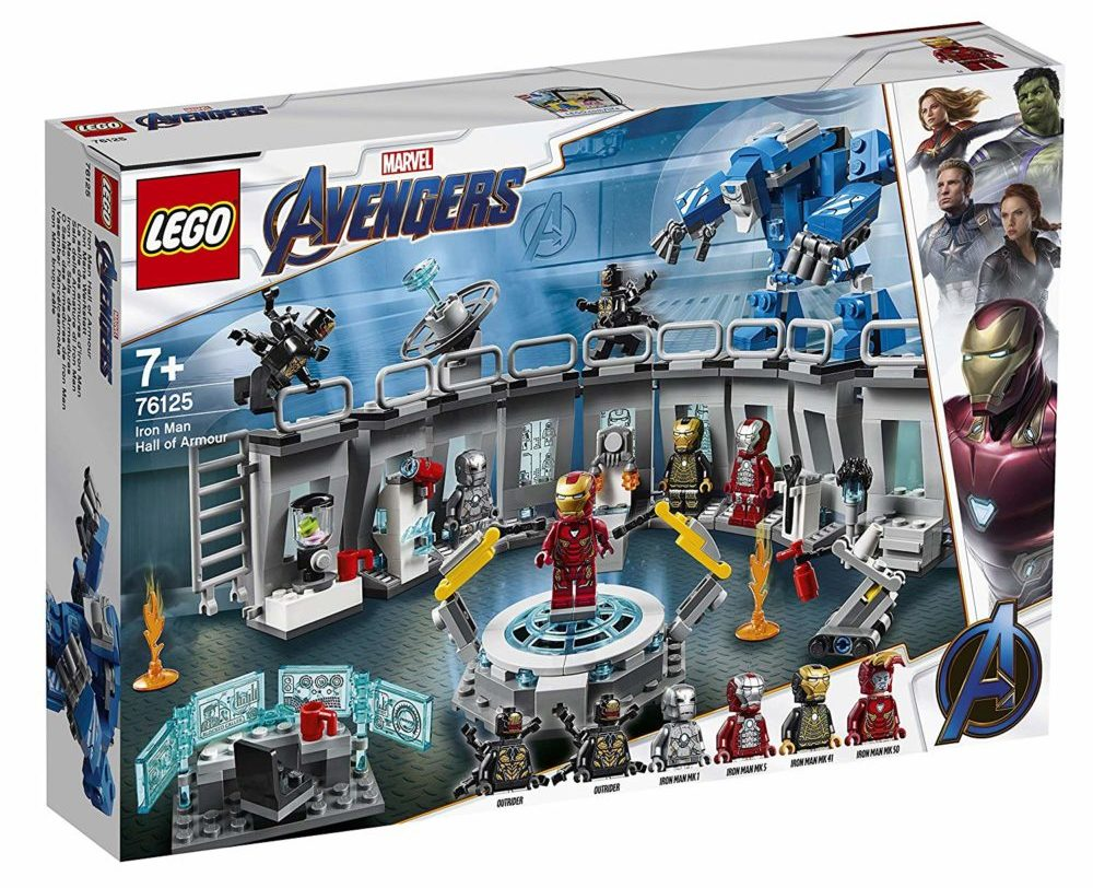 LEGO Marvel Avengers Endgame 76125 Iron Man Hall of Armor