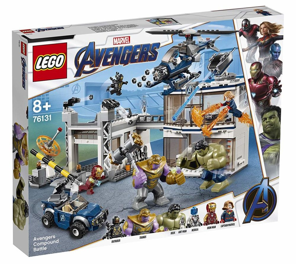 LEGO Marvel Avengers Endgame 76131 Avengers Compound Battle